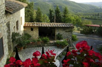 Vista ingresso principale - Borgoricavo
